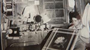 Vernon U. Miller in CPS camp, 1940s