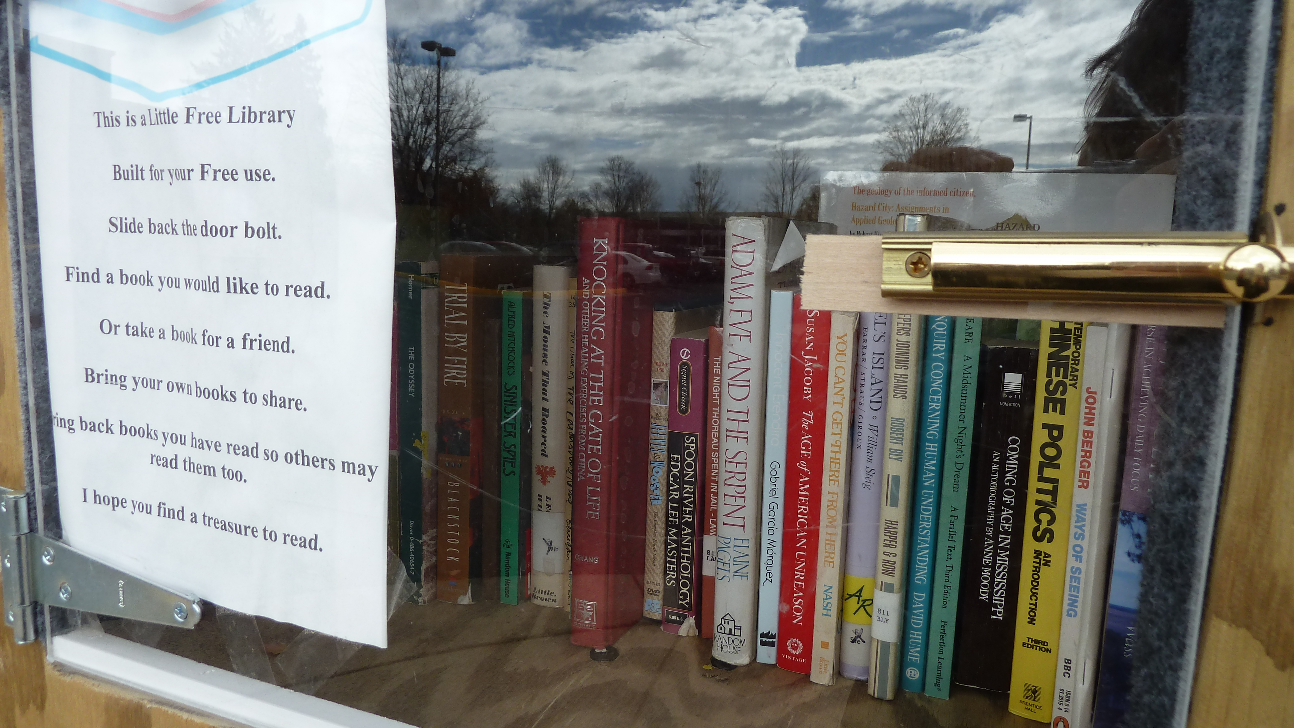 And Now I Can Get A Free Trip Anytime I Pop By The Little Book Shed Looks  Like Something My Husband Could Havee Up With